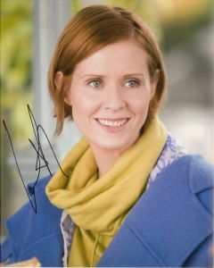 Cynthia Nixon, Miranda Hobbes,  '(Sex in the City ) Genuine Signed Autograph10x8  10585